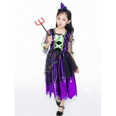 Halloween Witch Cosplay Dress