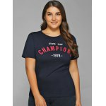 Short Sleeves Champions Print T-Shirt deal