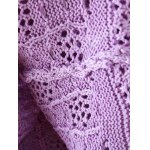 Openwork Textured Cable Knitwear for sale