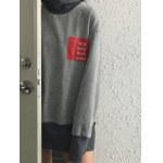 High Neck Graphic Patch Sweatshirt deal