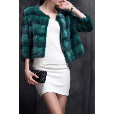 Mink Fur Short Coat