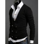 Long Sleeves Double-Breasted Cardigan deal