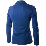 cheap Turn-Down Collar Single-Breasted Pockets Design Jacket