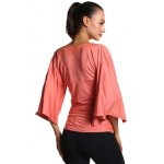 Ruched Fitted Bell Sleeve Blouse photo
