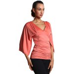 Ruched Fitted Bell Sleeve Blouse deal
