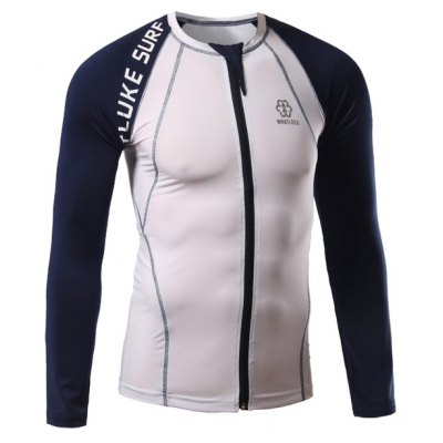 Surf Print Personalized Stitching Cycling Jerseys