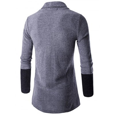 Slim-Fit Color Block Shawl Collar CardiganMens Sweaters &amp; Cardigans<br>Slim-Fit Color Block Shawl Collar Cardigan<br><br>Collar: Turn-down Collar<br>Material: Cotton, Polyester<br>Package Contents: 1 x Cardigan<br>Sleeve Length: Full<br>Style: Casual<br>Type: Cardigans<br>Weight: 0.389kg