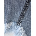 best Tassel Jean Skirt