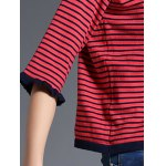 Two Tone Striped Sweater photo