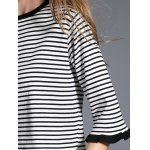 best Two Tone Striped Sweater