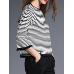 Two Tone Striped Sweater deal