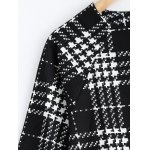 Plus Size Checkered Printed Blouse for sale