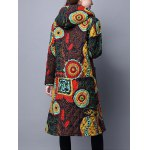 Hooded Printed Quilted Coat deal