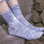 One Set Stripe Pattern Socks for sale