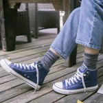 One Set Stripe Pattern Socks photo