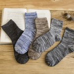 cheap One Set Stripe Pattern Socks