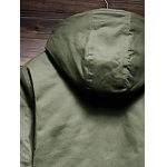 Zip Up Drawstring Hem Hooded Quilted Coat deal
