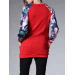 Long Floral Thickening Sweatshirt for sale