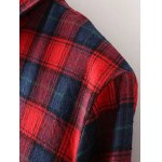 Plus Size Thick Plaid Flannel Shirt for sale