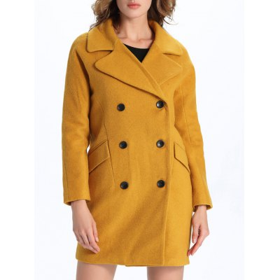 Vintage Double-Breasted Coat
