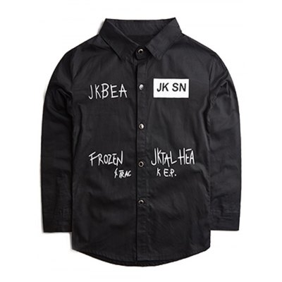 Jabea Kid Shirt with Letter Print