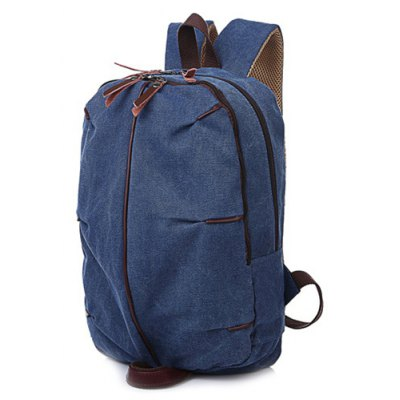 Zips Canvas Backpack