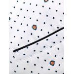 Spot Water Drop Printed Plus Size Shirt for sale
