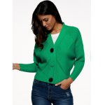 Batwing Sleeve Buttoned Cardigan deal