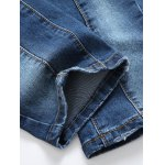 best Paint Splatter Straight Leg Jeans