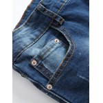 Paint Splatter Straight Leg Jeans deal