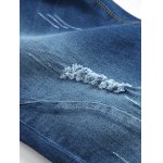 best Zip-Fly Straight Leg Frayed Jeans