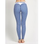 Polka Dot Skinny Yoga Leggings for sale