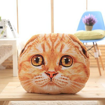 Cute 3D Big Eyes Nekolus Shape Plush Cartoon Pillow