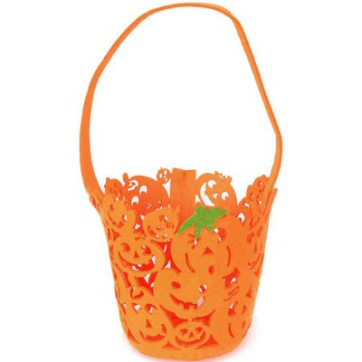 Halloween Cut Out Pumpkin Bag