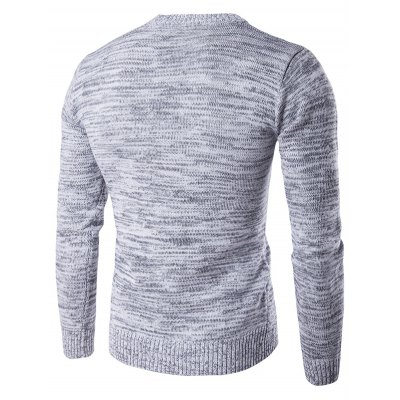 Crew Neck Space Dyed Sweater