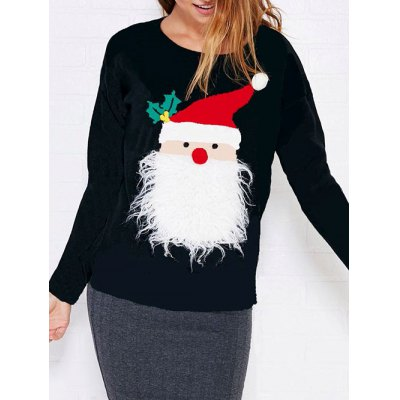 Sherpa Fleece Christmas SweatshirtSweatshirts &amp; Hoodies<br>Sherpa Fleece Christmas Sweatshirt<br><br>Material: Cotton Blend<br>Clothing Length: Regular<br>Sleeve Length: Full<br>Style: Active<br>Pattern Style: Figure<br>Season: Fall,Spring,Winter<br>Weight: 0.420kg<br>Package Contents: 1 x Sweatshirt
