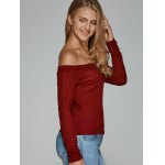 Off The Shoulder Textured Knitwear deal