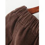 Plus Size Corduroy Flare Skirt deal