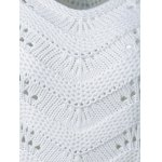 Ribbed Openwork Sweater deal
