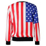 The Stars Stripes Flag Loose Hoodie deal