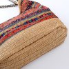 Bohemian Straw Chains Printed Shoudler Bag for sale