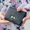 Bird PU Leather Small Wallet for sale