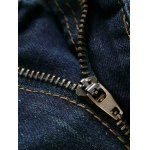 Zip Fly Animal Embroidery Jeans for sale
