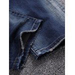 Zip Fly Ripped Jeans for sale
