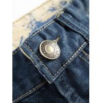 Zipper Fly Holes and Appliques Patch Design Jeans deal