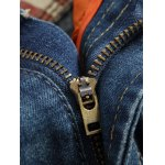 Zipper Fly Holes and Appliques Patch Design Jeans for sale