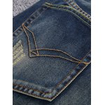 Zipper Fly Holes and Appliques Design Jeans for sale