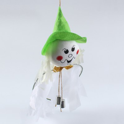 Halloween Party Decoration Ghost Witch Hanging Prop