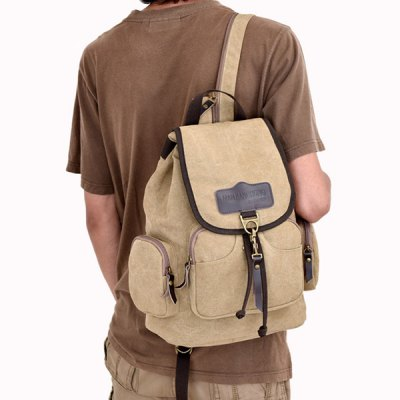 Canvas Drawstring Zippers BackpackMens Bags<br>Canvas Drawstring Zippers Backpack<br><br>Backpack Usage: Daily Backpack<br>Backpacks Type: Softback<br>Closure Type: String<br>Pattern Type: Patchwork<br>Main Material: Canvas<br>Gender: For Men<br>Weight: 1.200kg<br>Package Contents: 1 x Backpack<br>Length: 28CM<br>Width: 16CM<br>Height: 38CM