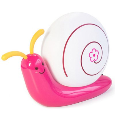 Creative Induction Touch LED USB Charging Snail Night Light